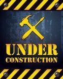 Priorità bassa in costruzione Immagine Stock