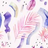 Priorità bassa creativa astratta Illustrazione moderna dell'acquerello royalty illustrazione gratis