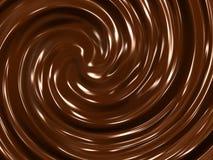 Priorità bassa crema del cioccolato Immagini Stock Libere da Diritti