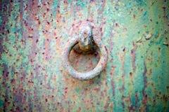 Priorità bassa d'acciaio arrugginita Fotografie Stock Libere da Diritti