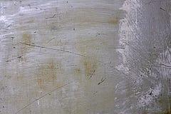 Priorità bassa d'acciaio graffiata Immagini Stock