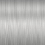 Priorità bassa d'acciaio spazzolata Fotografia Stock Libera da Diritti