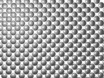 Priorità bassa d'argento delle sfere Immagini Stock
