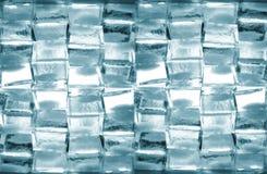 Priorità bassa dai cubi di ghiaccio Fotografia Stock Libera da Diritti