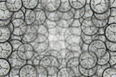 Priorità bassa dall'orologi Fotografia Stock Libera da Diritti