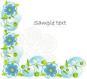 Priorità bassa decorativa del fiore di Beautifull Immagini Stock