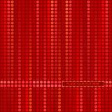 Priorità bassa decorativa rossa Immagini Stock