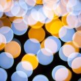 Priorità bassa Defocused degli indicatori luminosi Immagini Stock Libere da Diritti