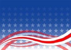 Priorità bassa degli S.U.A. illustrazione vettoriale