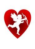 Priorità bassa dei biglietti di S. Valentino Immagini Stock Libere da Diritti