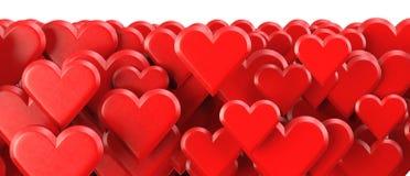 Priorità bassa dei biglietti di S. Valentino Fotografie Stock Libere da Diritti