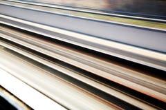 Priorità bassa dei binari ferroviari Immagini Stock