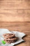 Priorità bassa dei biscotti Fotografie Stock