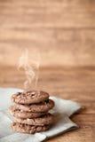 Priorità bassa dei biscotti Fotografie Stock Libere da Diritti