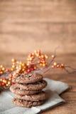 Priorità bassa dei biscotti Fotografia Stock