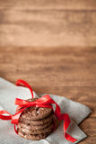 Priorità bassa dei biscotti Immagini Stock Libere da Diritti