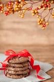Priorità bassa dei biscotti Fotografia Stock Libera da Diritti
