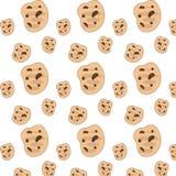 Priorità bassa dei biscotti Immagine Stock Libera da Diritti