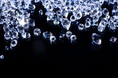 Priorità bassa dei diamanti Fotografia Stock Libera da Diritti