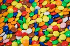 Priorità bassa dei fagioli di gelatina Fotografia Stock