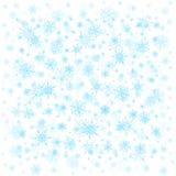 Priorità bassa dei fiocchi di neve Immagini Stock Libere da Diritti