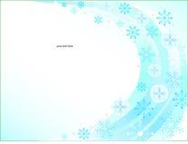 Priorità bassa dei fiocchi di neve di natale Fotografia Stock Libera da Diritti