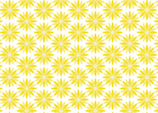 Priorità bassa dei fiori gialli Fotografia Stock