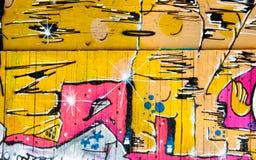 Priorità bassa dei graffiti immagine stock