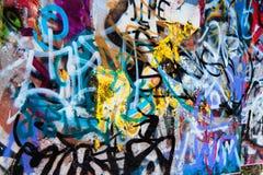 Priorità bassa dei graffiti fotografia stock