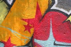 Priorità bassa dei graffiti Fotografie Stock