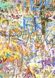 Priorità bassa dei graffiti Fotografie Stock Libere da Diritti