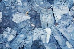 Priorità bassa dei jeans Immagine Stock