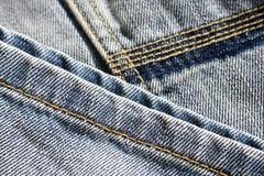 Priorità bassa dei jeans Fotografie Stock