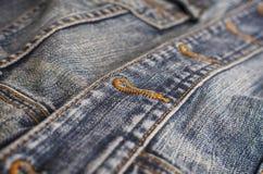 Priorità bassa dei jeans Fotografie Stock Libere da Diritti