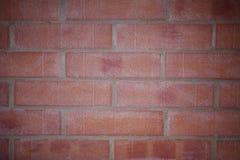 Priorità bassa dei mattoni rossi Fotografia Stock