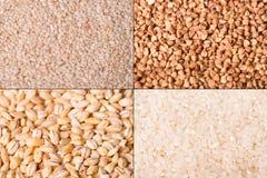 Priorità bassa dei raccolti di granulo immagini stock