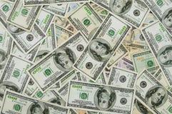Priorità bassa dei soldi Fotografia Stock Libera da Diritti