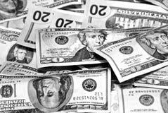 Priorità bassa dei soldi Fotografie Stock