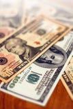 Priorità bassa dei soldi Fotografia Stock