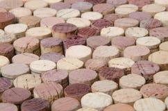 Priorità bassa dei sugheri del vino Immagine Stock