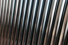 Priorità bassa dei tubi del metallo Immagine Stock Libera da Diritti