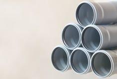 Priorità bassa dei tubi per fognatura Immagine Stock Libera da Diritti