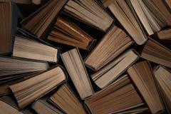 Priorità bassa dei vecchi libri Immagine Stock
