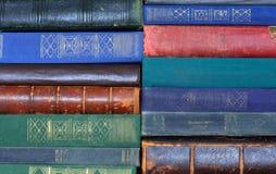Priorità bassa dei vecchi libri fotografia stock libera da diritti
