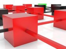priorità bassa del abstarct 3D Fotografie Stock Libere da Diritti