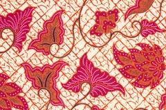 Priorità bassa del batik. Fotografie Stock