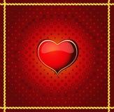 Priorità bassa del biglietto di S. Valentino Fotografie Stock