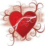 Priorità bassa del biglietto di S. Valentino, vettore royalty illustrazione gratis
