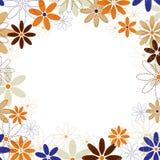 Priorità bassa del blocco per grafici dei fiori. Fotografie Stock