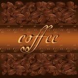 Priorità bassa del caffè Fotografie Stock Libere da Diritti